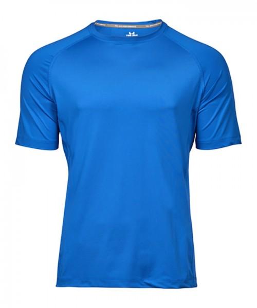 Sport T-Shirt Herren blau